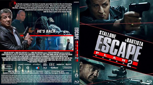 Escape Plan 2 Hades Bluray Cover