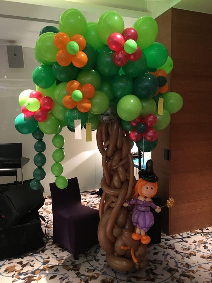 氣球場地佈置-許願樹