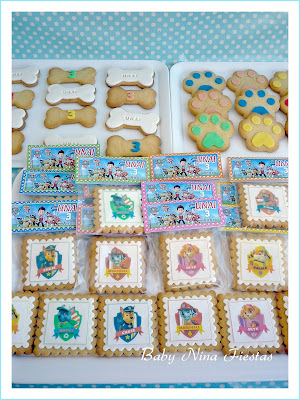 Galletas decoradas patrulla canina