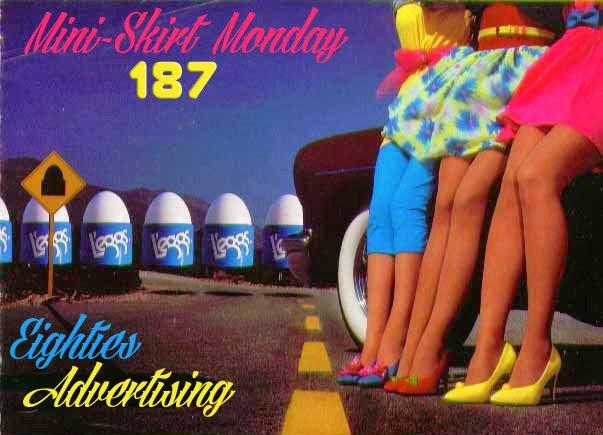 Retrospace: Mini Skirt Monday #187: 1980s Fashion Advertising