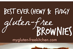 BEST EVER CHEWY FUDGY GLUTEN-FREE BROWNIES