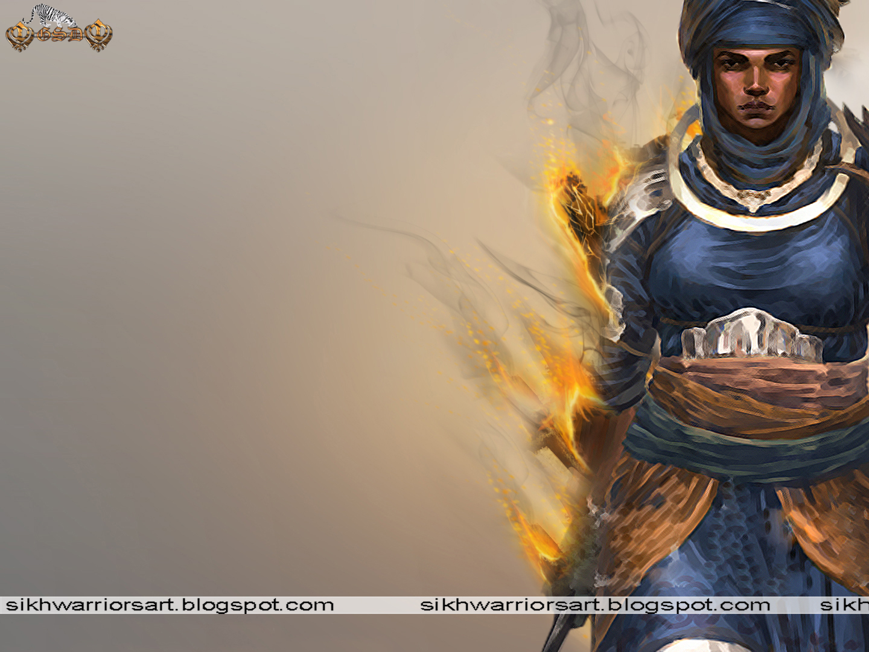 Sikh Warriors: Sikh Woman Warrior
