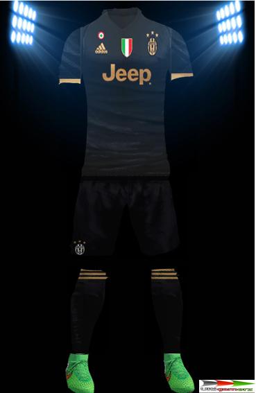 e1c782d6d94 ultigamerz  PES 6 Juventus Champions League 2015-16 Full GDB Kits
