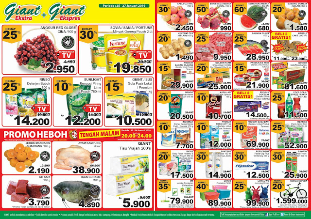 #Giant - #Promo #Katalog Giant JSM Periode 25 - 27 Januari 2019