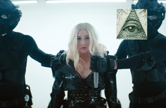Fall In Line de Christina Aguilera y Demi Lovato es sobre liberacion de control mental MK Ultra?