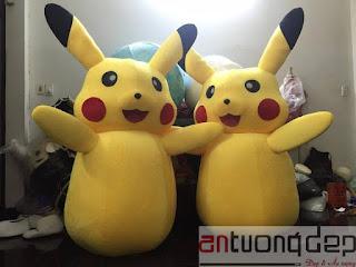 thuê mascot pikachu
