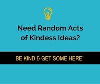 Random Acts of Kindness Week | #RAK