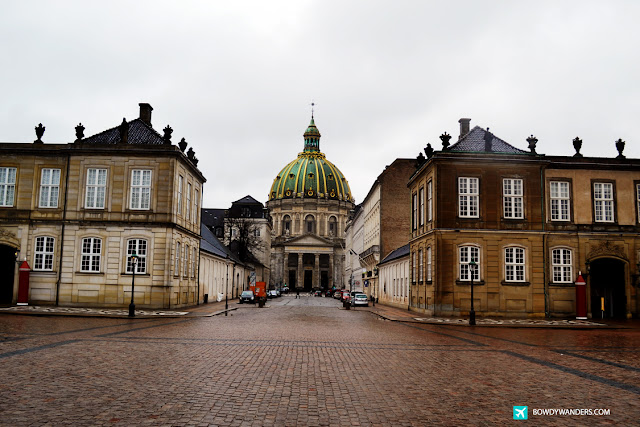 bowdywanders.com Singapore Travel Blog Philippines Photo :: Denmark :: Amalienborg Palace: Shivering Around Copenhagen's Royal Palace Grounds