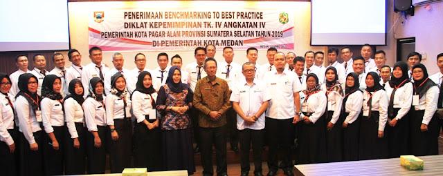 Peserta Benchmarking To The Best Practice Kunjungi Pemko Medan