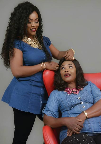 See lookalike mum of Nollywood actress Daniella Okeke
