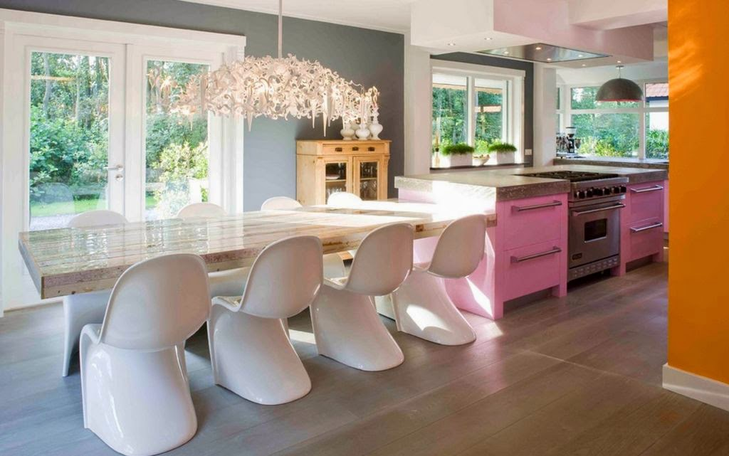 Contemporary Kitchen Tables Colors