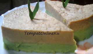 kue wadai sari muka khas kalimantan selatan