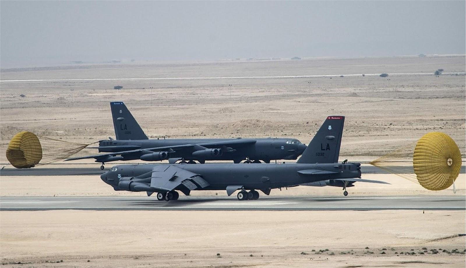 Amerika Serikat telah mengirim pembom strategis B-52 ke Eropa untuk latihan NATO