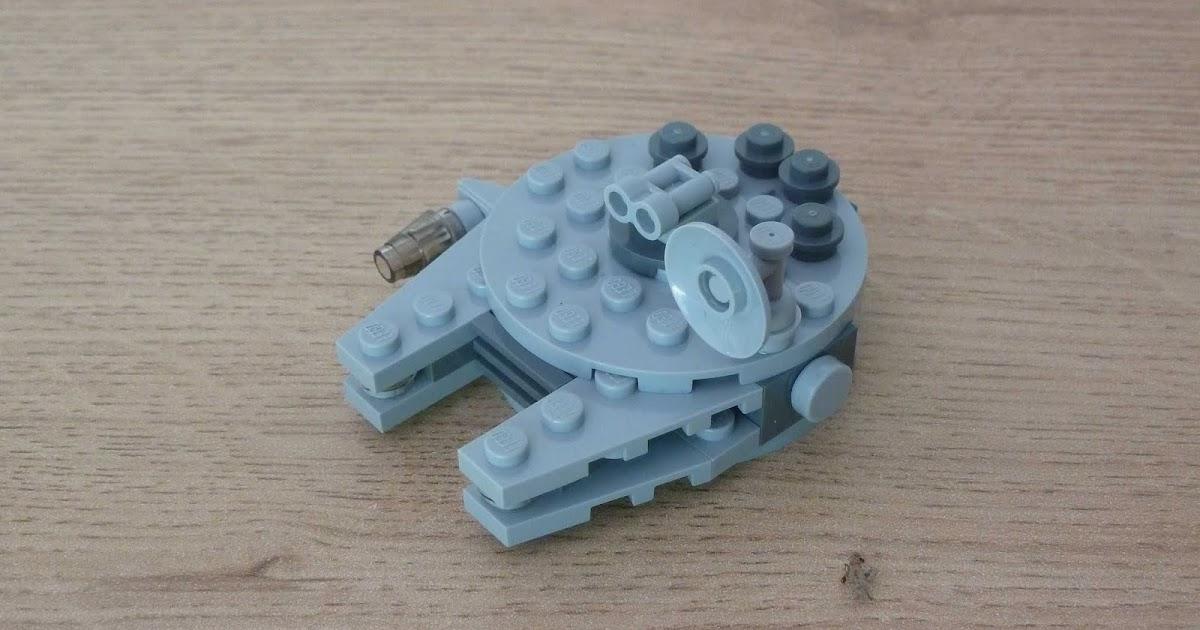 Totobricks Lego Star Wars Millenium Falcon Instructions Magazine