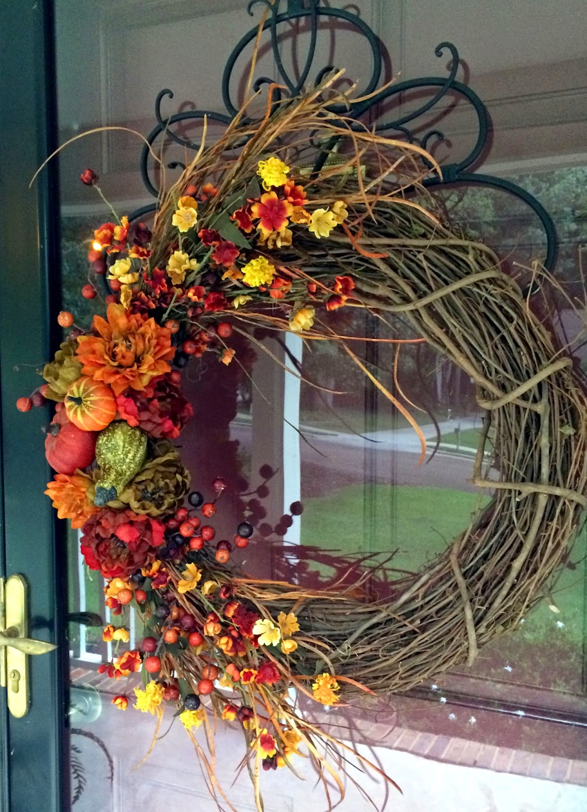 Southern Inspirations: DIY Fall Wreath...Hello Fall!