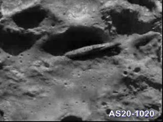 Actual UFO on the Moon.