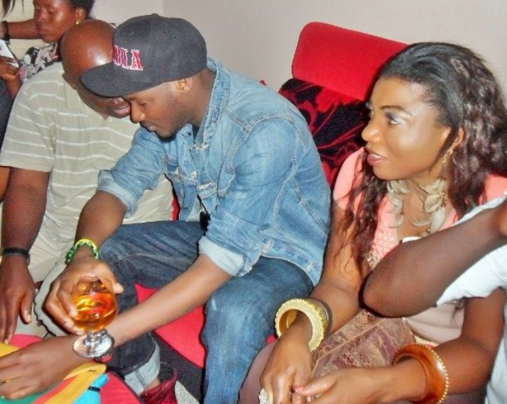 2face idibia secret girlfriend london