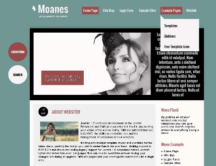 Moanes Premium Joomla 2.5 Template (globbersthemes.com)