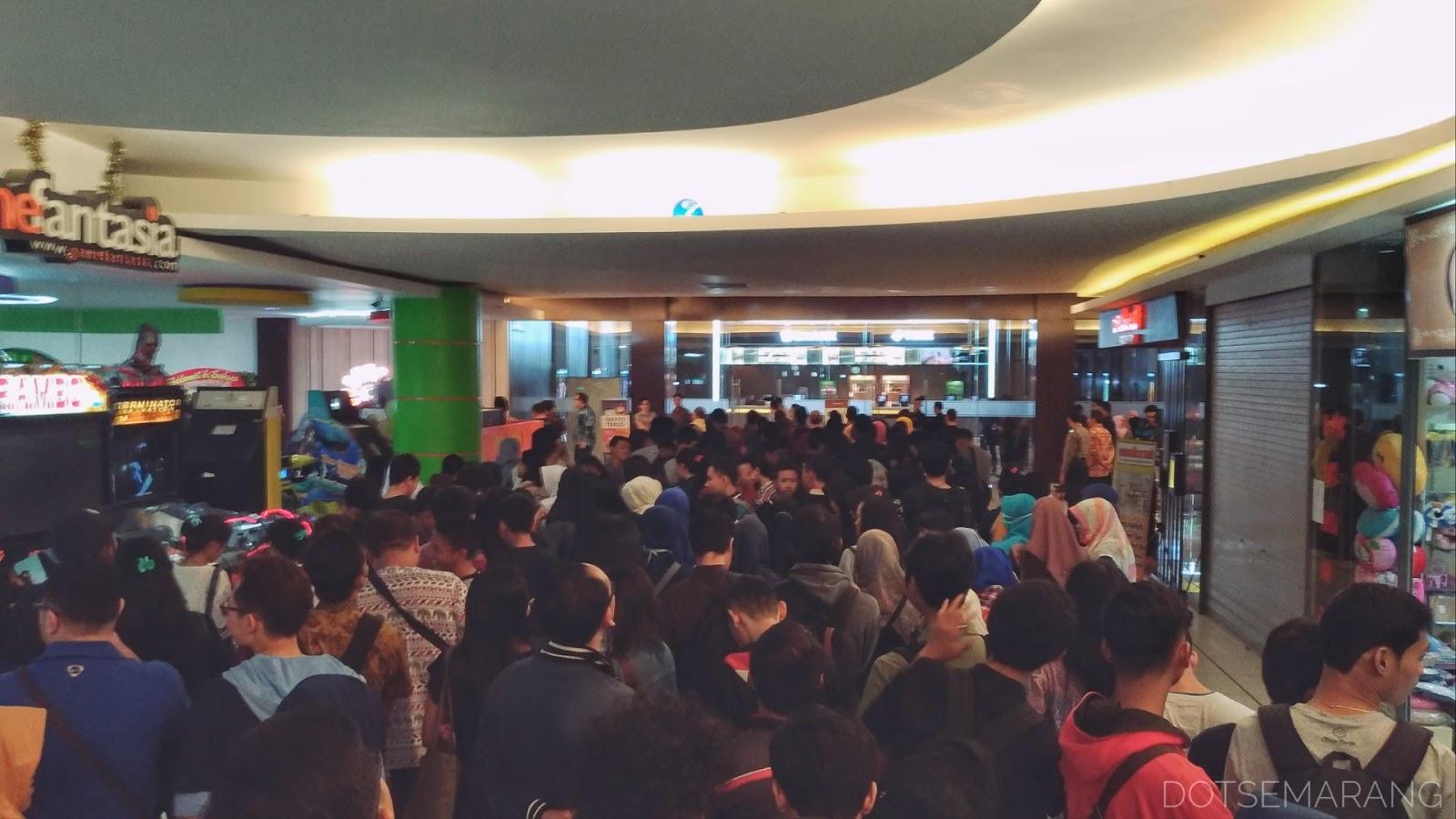 Photoblog Suasana Pembukaan Cinemaxx Di Semarang