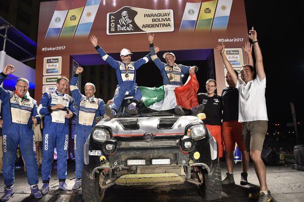 Η Fiat πρωταγωνίστησε στον φετινό αγώνα Ντακάρ με το Fiat Panda