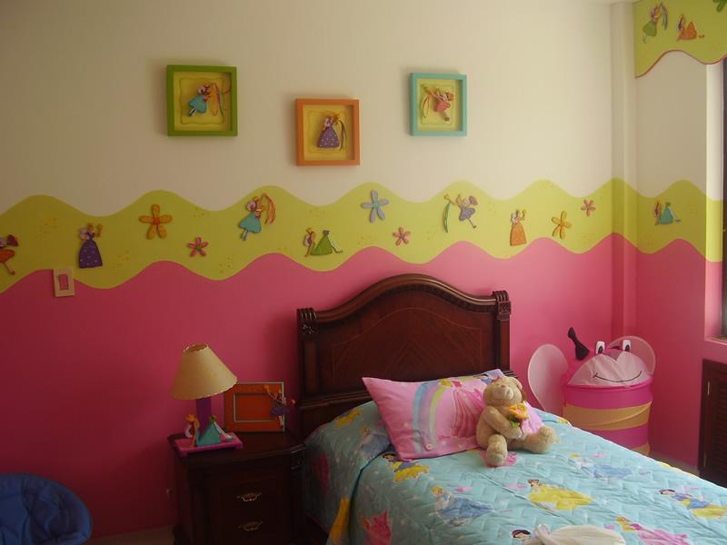 Mente creativa murales en country Decoracion de habitaciones infantiles