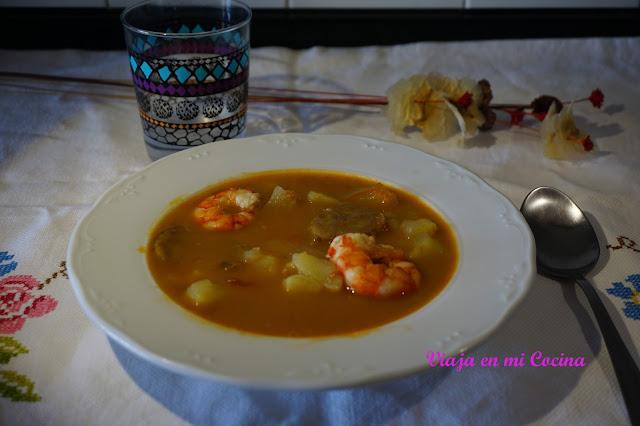 Sopa de Camarones (Cabo Verde)