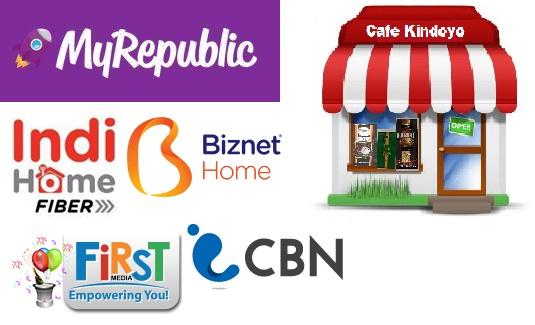CAFE KINDOYO: Beberapa Penyedia Layanan Internet Fiber di