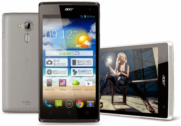 Gambar Acer Liquid Z5 Android Jelly Bean 5 inch