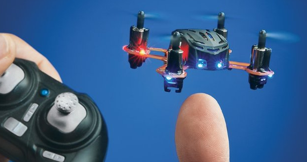 Nano Remote Controlled Quadcopter world's smallest radio controlled quadcopter