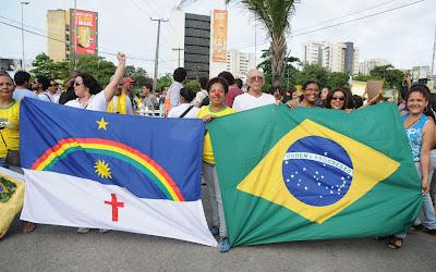 Dia de protestos no Recife contra a Reforma Previdenciária
