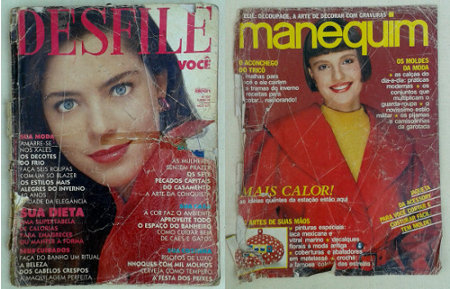 Revistas de moda dos anos 80