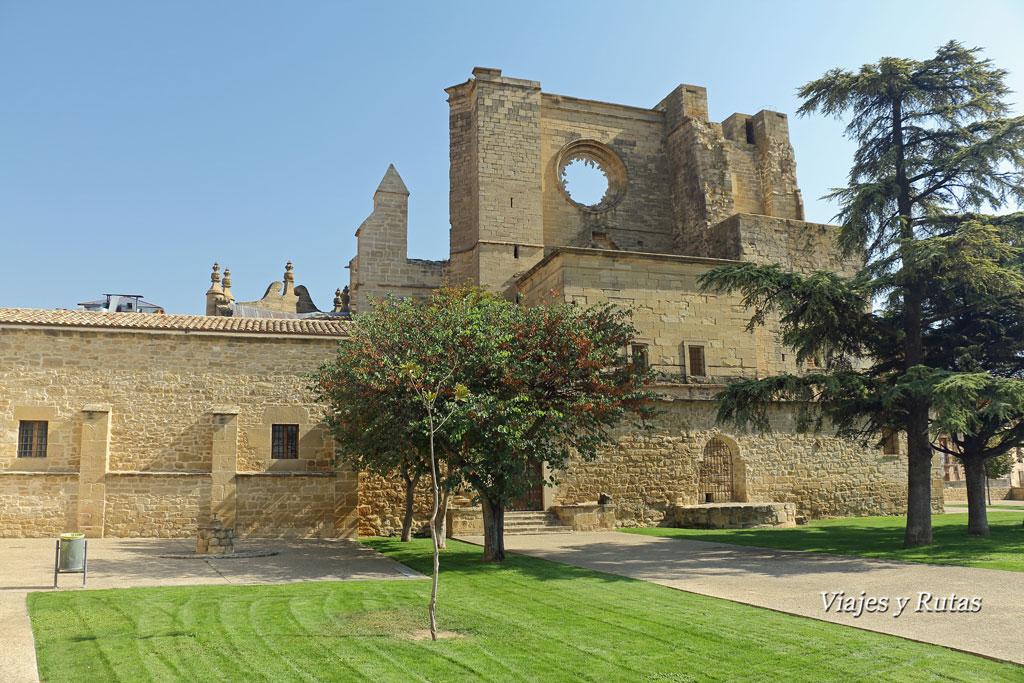 Parque Mirador de la Iglesia de San Pedro, Viana