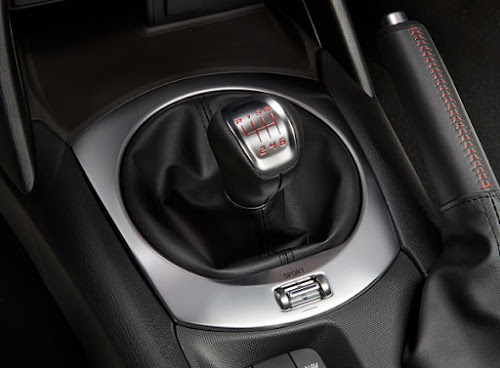 124 Spider Abarth Shifter and Sport Button