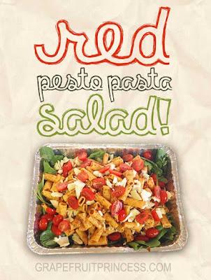 Easy, recipe, pasta salad, italian, pesto, memorial day, bbq