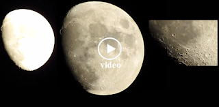 Nikon Coolpix P900 83x Optical Zoom - Video Test on Moon