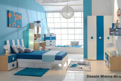 Ide Desain Interior Warna Biru yang Membuat Rumah Lebih Terang