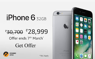 iPhone 6 32GB with Internal Memory Storage