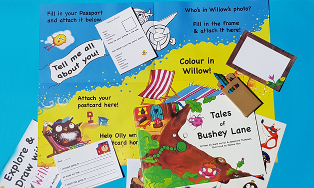 Bushey Lane book helps parents and carers prompt discussion with children who may express some concerns, upset or anxieties