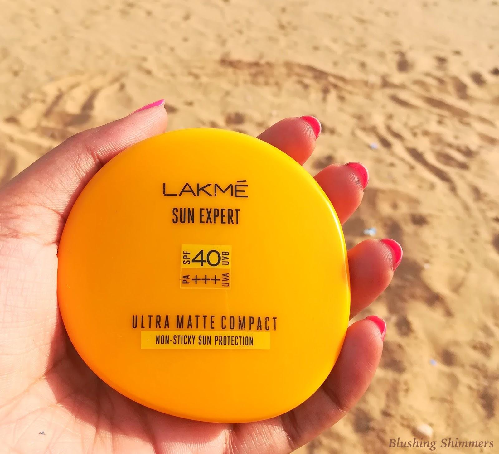 Lakme Sun Expert Ultra Matte Compact Review