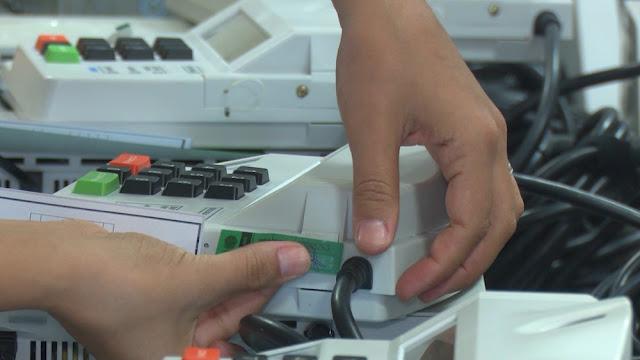 Justiça Eleitoral lacra urnas eletrônicas em Cacoal e Ministro Andreazza