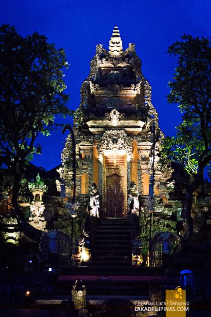 Bali Lotus Temple Ubud