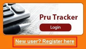 ICICI MF Pru Tracker New User Registration