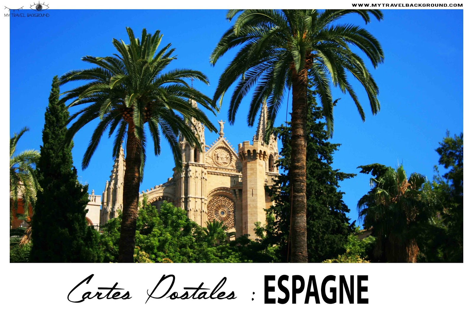 My Travel Background : Cartes Postale Espagne