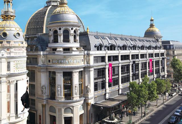 Lojas Au Printemps em Paris