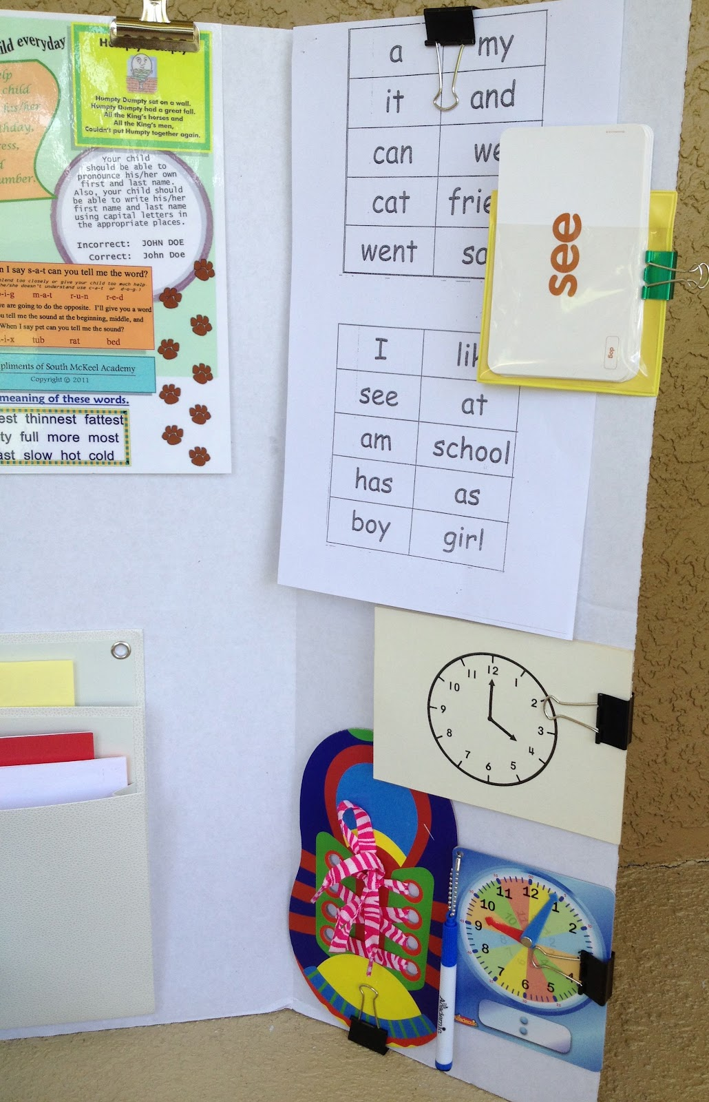 Smart And Simple Organizing Portable Homework Center