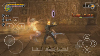 Game Ghost Rider PPSSPP