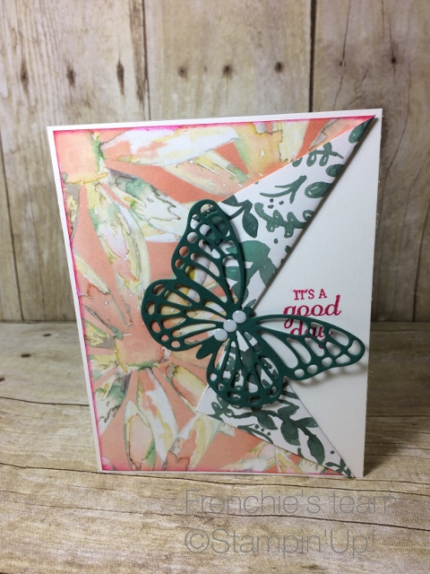 2017-19 Stampin'Up! in-color, Butterflies Thinlits
