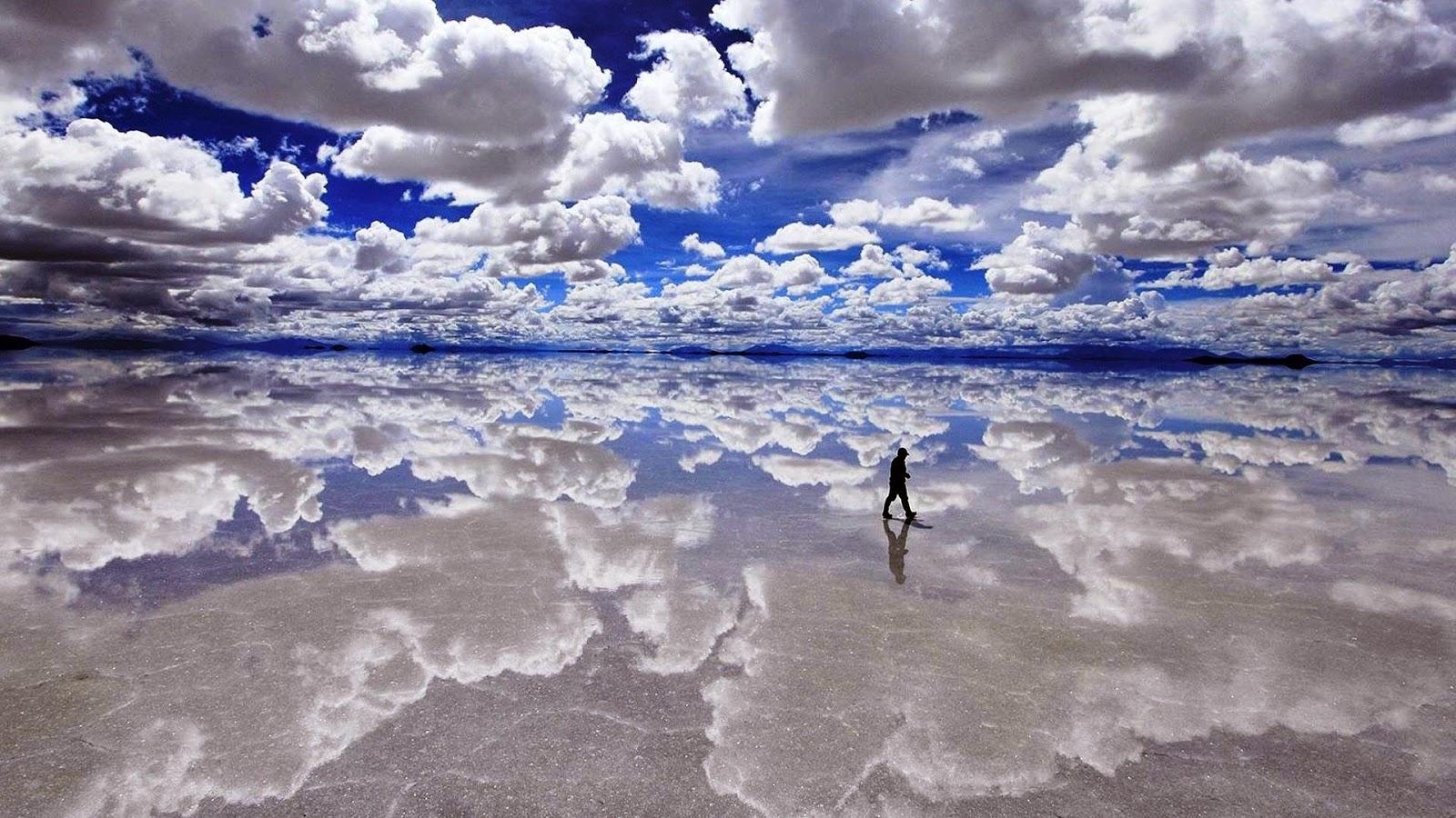 Le Salar d'Uyuni - le désert de sel de Bolivie : géologie et hexagones