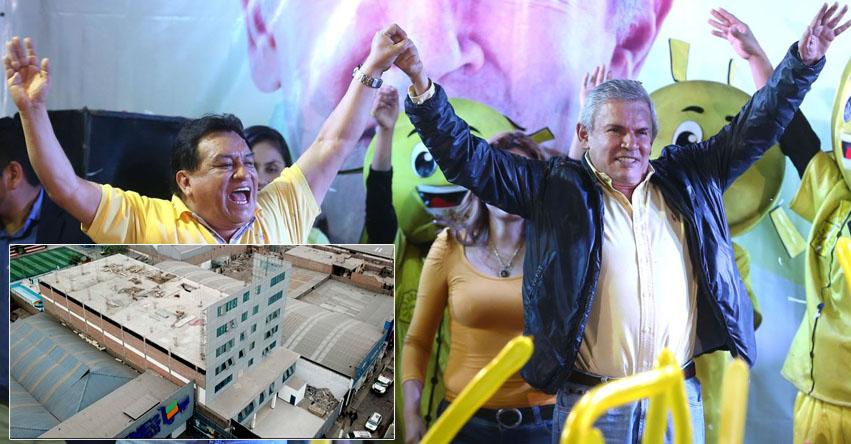 LUIS CASTAÑEDA LOSSIO: Investigan pagos millonarios de la Universidad TELESUP al ex alcalde de Lima