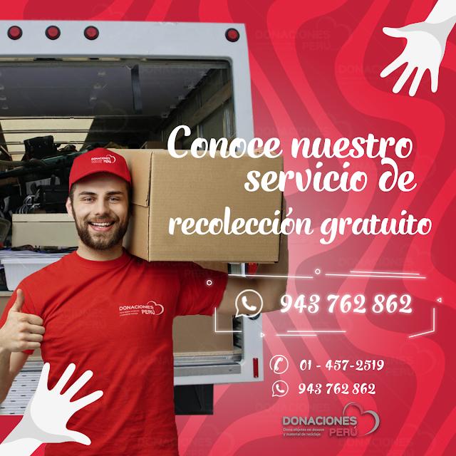 servicio_recolección_gratuito_donacionesperu